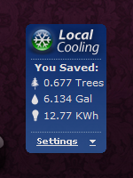 Local Cooling screenshot